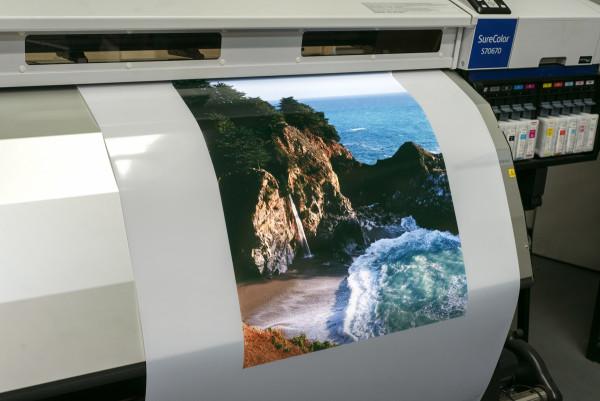 Backlit Printing